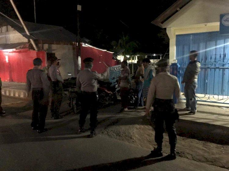 Cegah Peningkatan Penyebaran Covid-19, Tim Satgas Aman Nusa ll Gelar Patroli Diologis