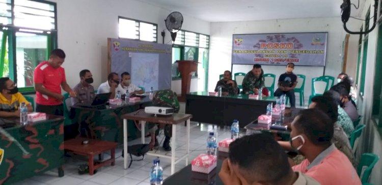 Kapolsek Jajaran Polres Ende Hadiri Pertemuan Dalam Rangka Penempatan Tim Gugus Tugas Covid-19 Di Wilayah Perbatasan