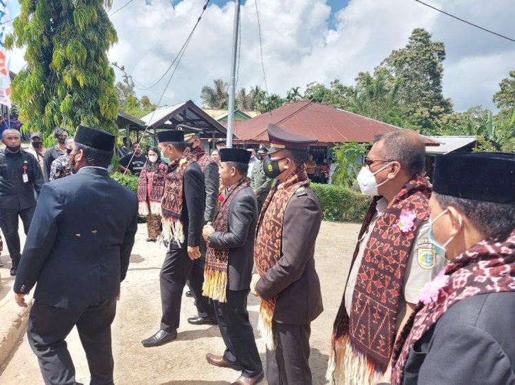 Kabag Ops Hadiri Upacara Peringati Hari Pahlawan Nasional