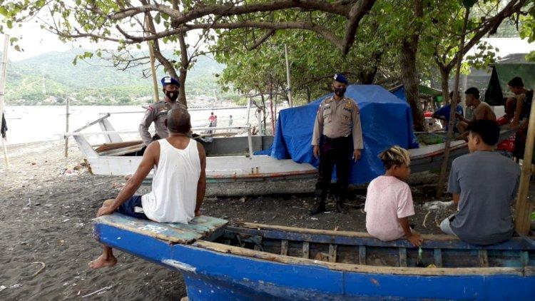 Satpolair Polres Ende Tingkatkan Patroli Ke Masyarakat Pesisir