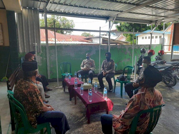 Sat Binmas Polres Ende Melaksanakan Giat Silaturahmi Kamtibmas Dengan Ketua LDI Kab.Ende