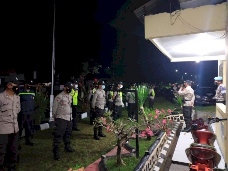 Cegah Gangguan Kamtibmas Jelang Hari Raya Idul Fitri 1442 H, Kapolsek Ende Bersama Anggota Laksanakan Patroli Dialogis