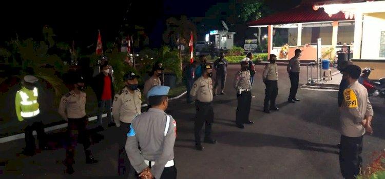 Tim Operasi Bina Kusuma Ranakah 2021, Gencar Laksanakan Patroli Gabungan Cegah Premanisme Dan Pungli
