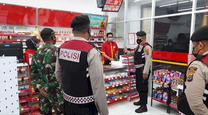 Kab. Ende Masuk PPKM Level IV, Polres Ende Dan Kodim 1602 Ende Terus Intensifkan Patroli Malam Dan Himbauan Prokes Kepada Masyarakat