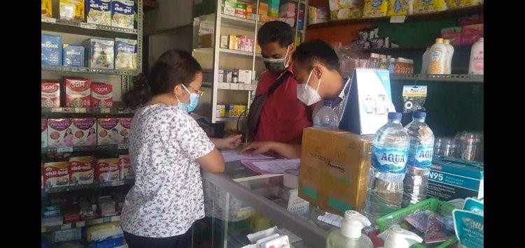 Satresnarkoba Polres Ende Rutin Cek Lonjakan Harga Dan Ketersedian Obat Di Apotek