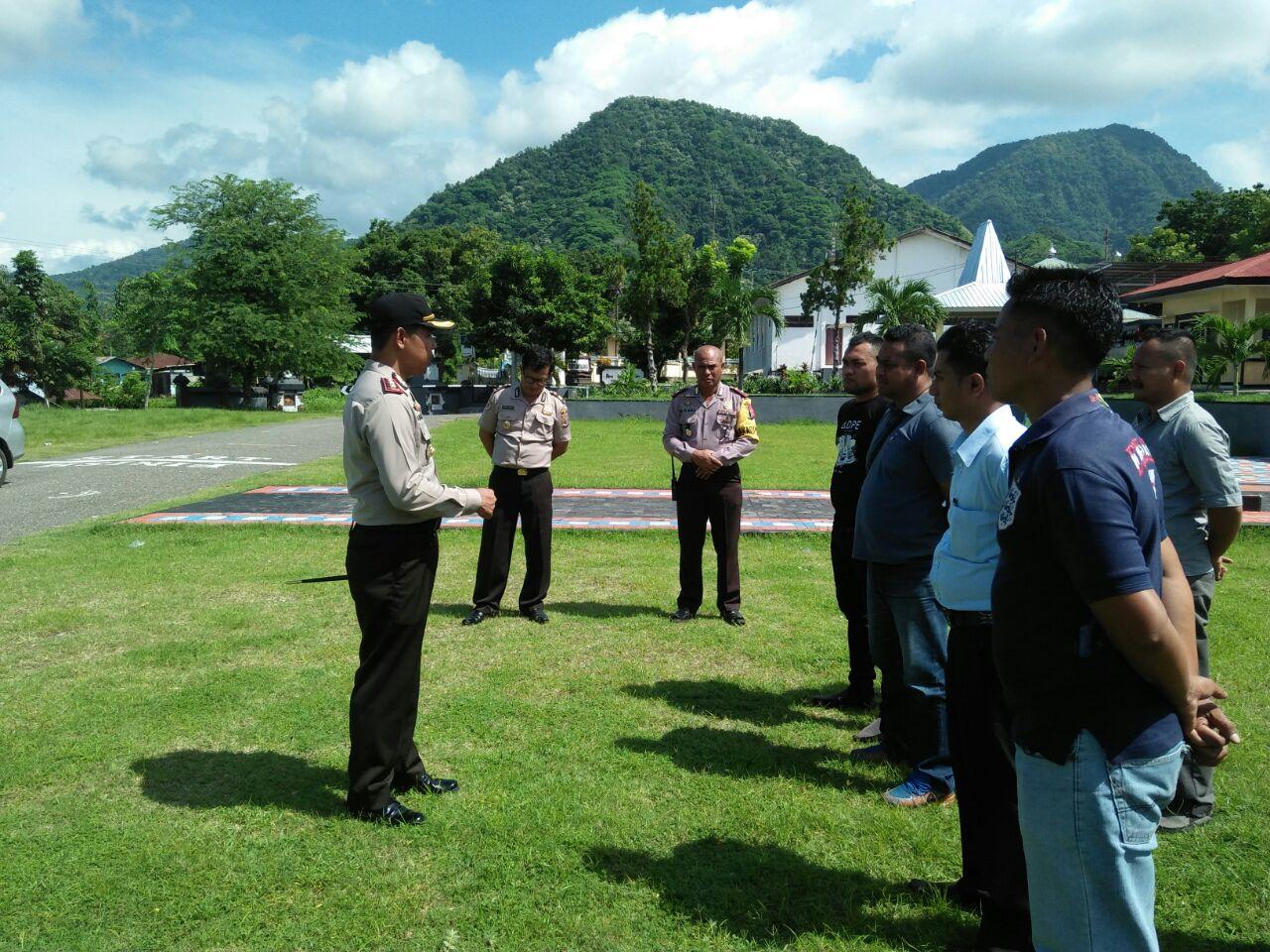Pelatihan pengawal pribadi (Walpri) hari ketiga Polres Ende