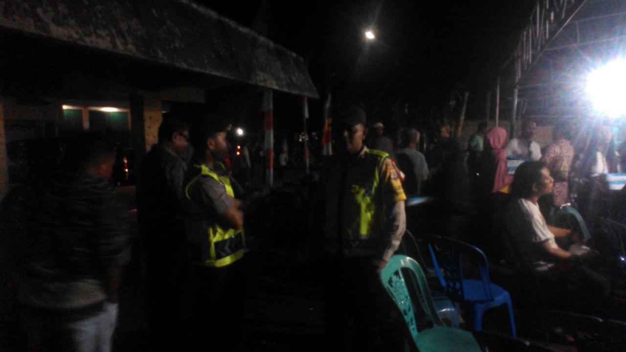 Polsek Ende Pengamanan giat Silaturahmi Balon Bupati Ende paket Marsel - Djafar ( MJ )