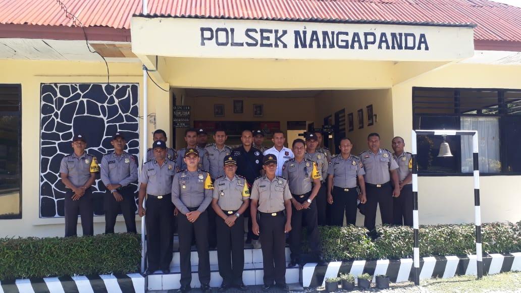Waka Polres Ende Pimpin Supervisi Di Polsek Nangapanda