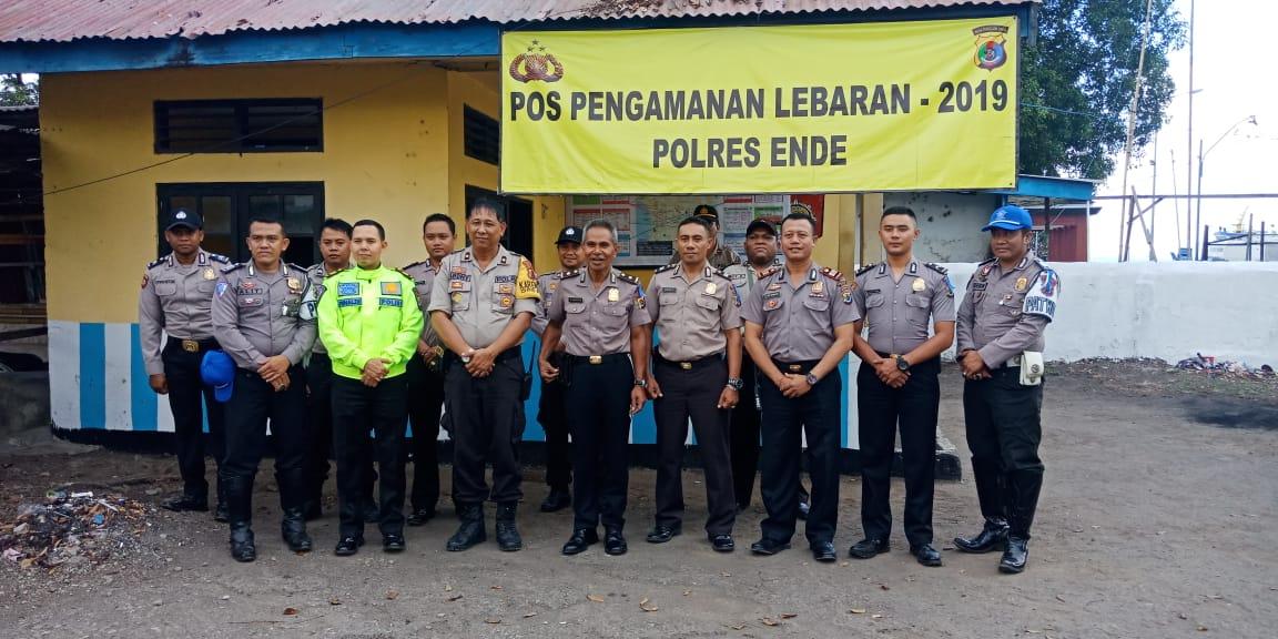 Polres Ende Terima Kunjungan Tim WAS-OPS Ketupat Turangga 2019 Polda NTT
